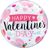 Folieballon bubbles Valentines Day
