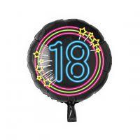 Folieballon Neon 18 jaar