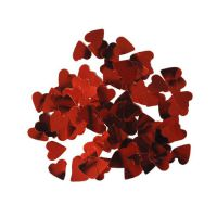 Confetti Hartjes Rood (25 gram)