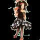Piraten jurk meisje