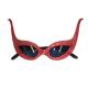 Discobril Vlinder Rood