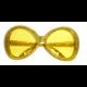 Partybril Groot Goud