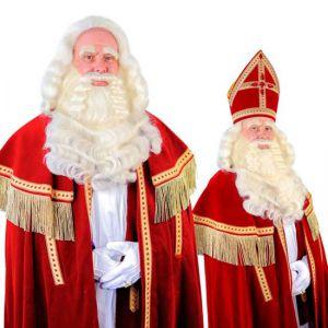 060d Sinterklaas Baardstel De Luxe