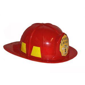 Brandweerhelm Rood