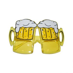 Oktoberfest bril Bierglas