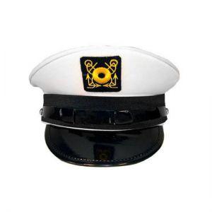 Kapiteinspet wit Lux