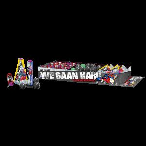 Vuurwerkpakket ' We Gaan Hard '