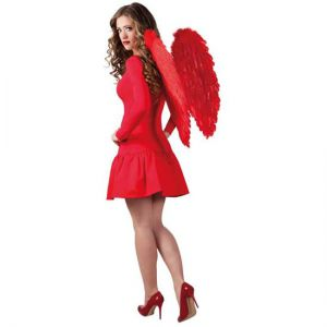 Engelen vleugels Rood 70 cm