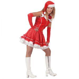 Kerstvrouw deluxe