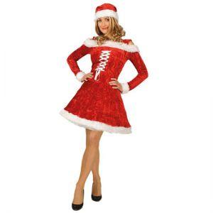 Kerstvrouw deluxe flirty