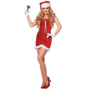 Kerstvrouw Jingle Bells
