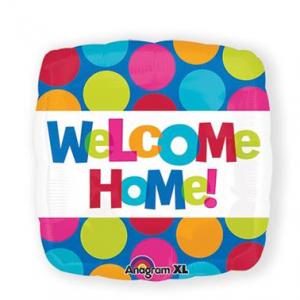 Gevulde Folieballon Welcome Home