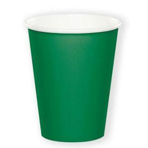 Bekers Emerald Groen (8 stuks)