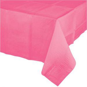Tafelkleed Roze Plastic