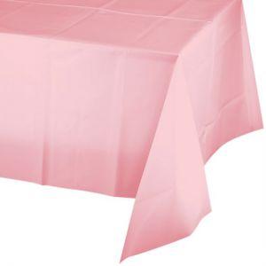 Tafelkleed Baby Roze Plastic