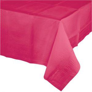 Tafelkleed Magenta Plastic
