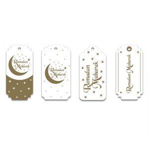 Gift Tags Ramadan Mubarak