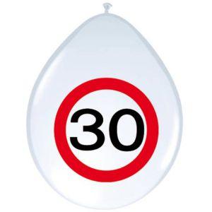Verkeersbord Ballonnen 30 jaar