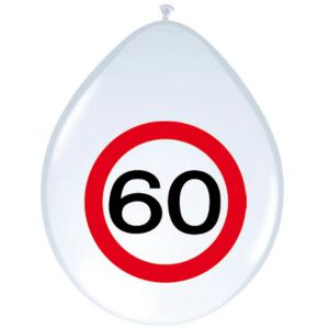 Verkeersbord Ballonnen 40 jaar