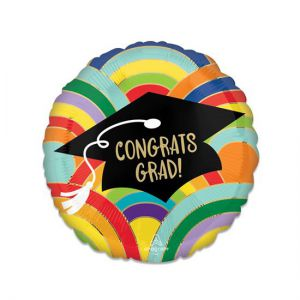 Folieballon Geslaagd Congrats