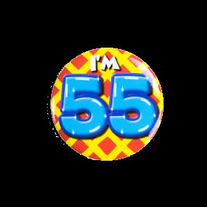 Button klein 50 jaar