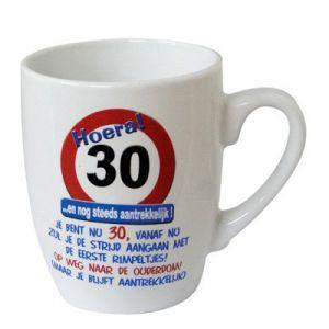 Leeftijd Mok Verkeersbord 30 jaar
