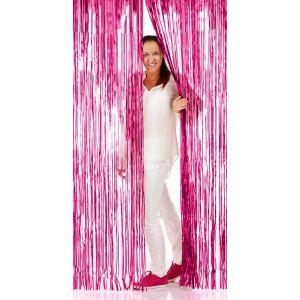 Deurgordijn folie Roze