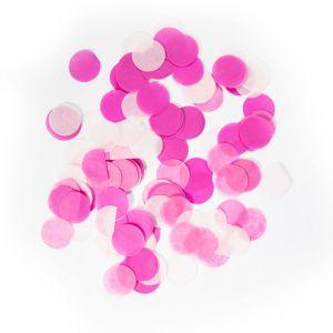 Confetti Groot roze