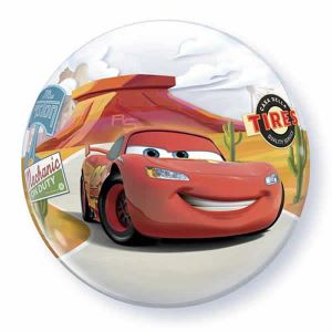 Folieballon bubbles Cars