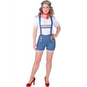Tiroler short Jeans