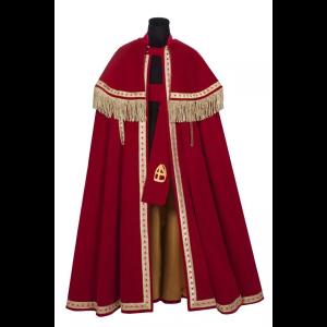 Sinterklaas Mantel en Stola deluxe Stefan