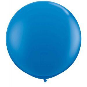 Latex Ballon Blauw 90cm, 3ft