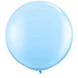 Latex Ballon Baby Blauw 90cm, 3ft