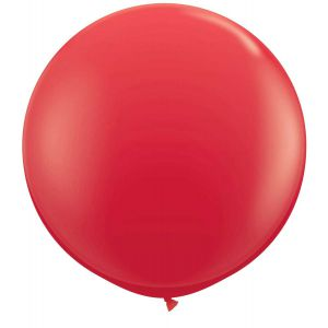 Latex Ballon Rood 90cm, 3ft