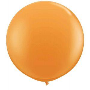 Latex Ballon Oranje 90cm, 3ft