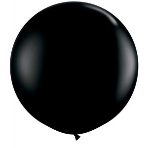 Latex Ballon Zwart 90cm, 3ft
