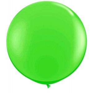 Latex Ballon Groen 90cm, 3ft