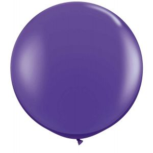 Latex Ballon Paars 90cm, 3ft