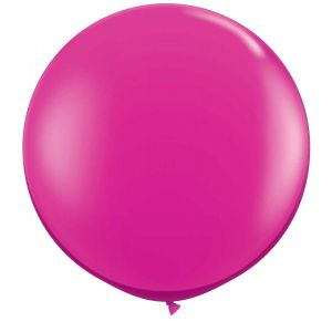 Latex Ballon Magenta 90cm, 3ft