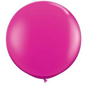 Latex Ballon Magenta 90cm, 3ft