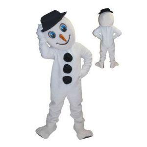 Mascotte Sneewman Kostuum