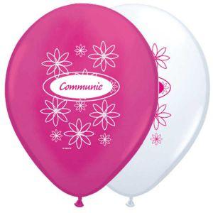 Ballonnen Communie Meisje