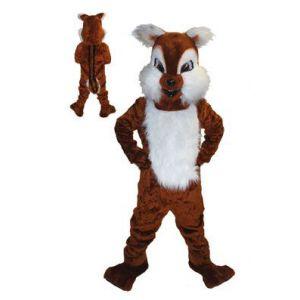 Mascotte Eekhoorn Kostuum