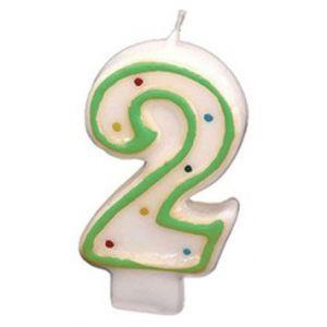 Verjaardags Kaarsje Cijfer 9