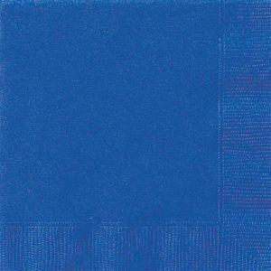 Servetten donker blauw