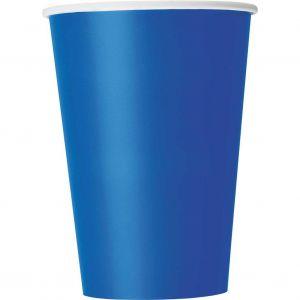 Bekers Donker Blauw 35 ml (10 stuks)