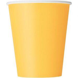 Bekers Geel 25 ml (14 stuks)