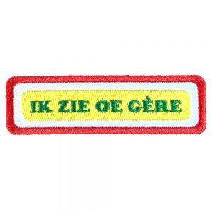 Strijkapplicatie Brabantse Uitspraken - Weerem