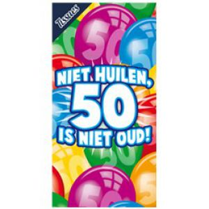Tissuebox 50 jaar