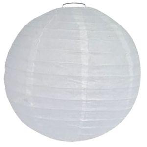 Ballon Lampion Wit 25 cm.